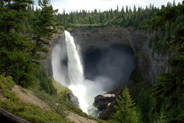 Wasserfall im Wells Gray Provincial Park