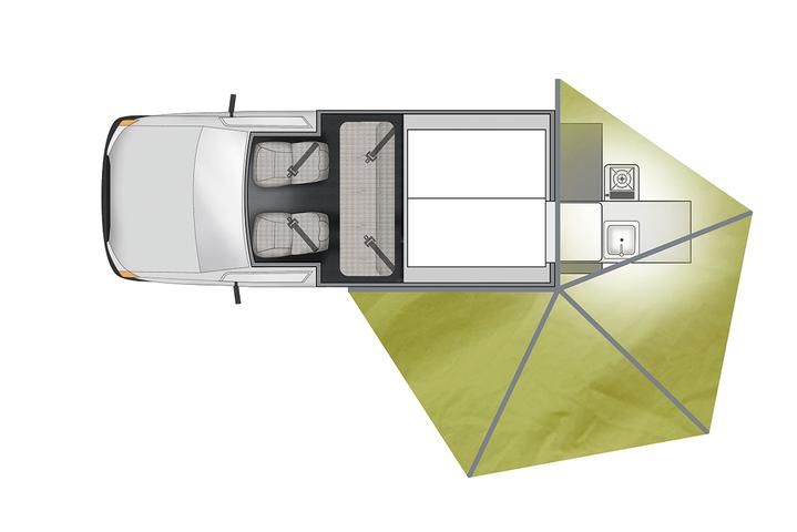 Floorplan bei Tag des Apollo 4WD X-Terrain