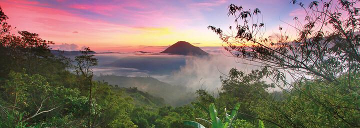 Gunung Agung Vulkan auf Bali