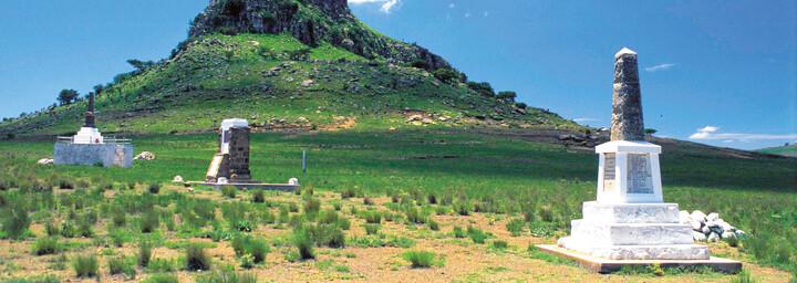 Zululand Battlefields in Südafrika