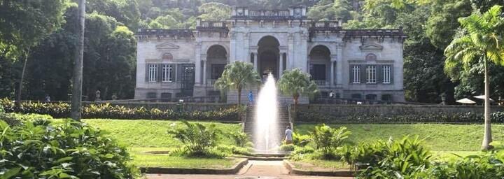Brunnen im Botanischen Garten von Rio