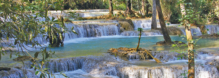 Kuang-Si Wasserfälle