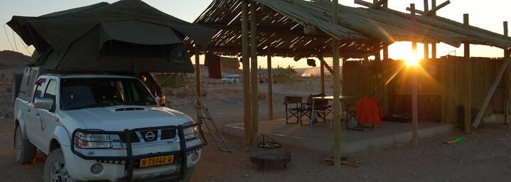 Reisebericht Namibia: Sossus Oasis Camp