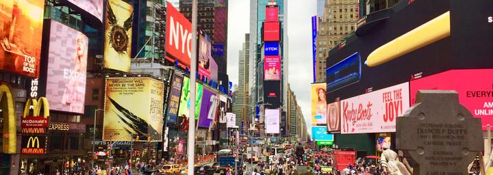 Reisebericht New York City - Times Square