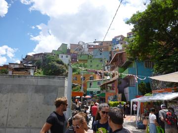 Graffiti Tour durch Medellín