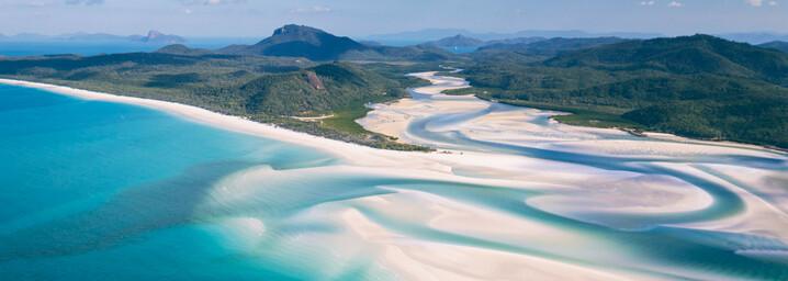 Reisebericht Australien: Whitehaven Beach Whitsunday Islands