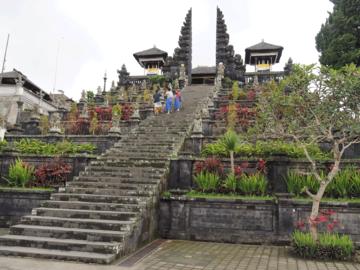 Besakih Tempel im Osten Balis