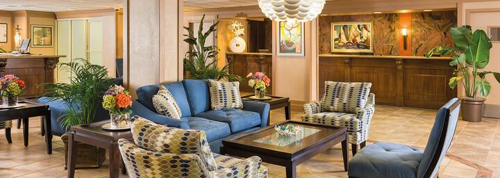 Lobby des Westgate Myrtle Beach Oceanfront Resort