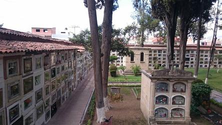 Reisebericht Südamerika  - Zentralfriedhof in Boliviens Haupstadt Sucre