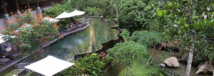 Spa Bereich des Maya Ubud Resort & Spa
