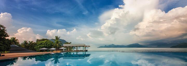 Pool mit Meerblick - The Westin Langkawi Resort & Spa