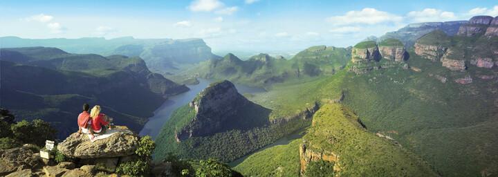 Blick über den Blyde River Canyon