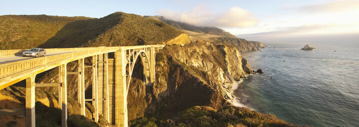 Bixby Bridge am Highway No. 1
