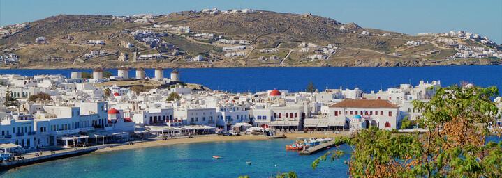 Griechische Insel Mykonos