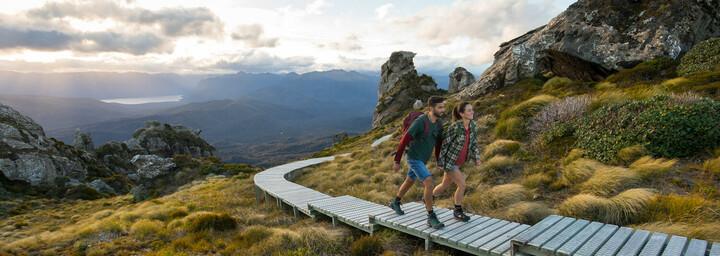 Wanderung Tuatapere Southland auf der Südinsel Neuseelands