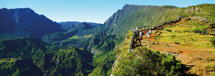 Landschaft von La Réunion