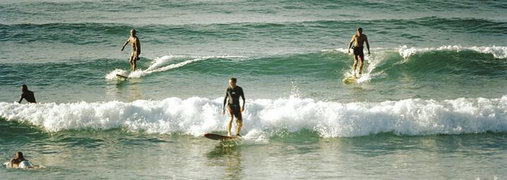 Surfer in Byron Bay