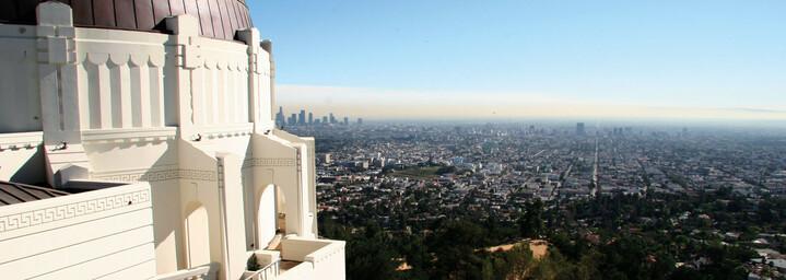 Aussicht auf Los Angeles vom Griffith Observatory